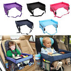 Kids Baby Safety Waterproof Snack Car Seat Table Play Travel Tray Drawing Board
