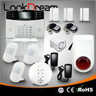 Update Home Alarm Systems Wireless House GSM Burglar Security Low Consume Power