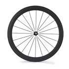 50mm Depth Clincher Road Bike Bicycle Touring Carbon Front Wheel Standard Wheel