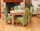 Oxford Solid Oak Furniture 4 Seater Medium Dining Table