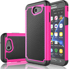 For Samsung Galaxy J3 Luna Pro Armor Shockproof Rugged Rubber Hard Phone Case