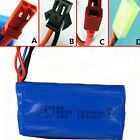7.4V battery pack 15c 1500mah 18650 for Remote Control Helicopter with charger