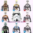 2017 Star Wars Superhero all HOT Character Custom Set Toy minifigures Fit Lego