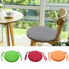 New Indoor Dining Seat Pad Garden Home Office Kitchen Round Chair Pad Cushion US