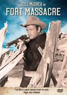 Joel McCrea - FORT MASSACRE - West's Most Savage WESTERN - Native American - DVD