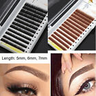 eyebrow thickness - Brow Building 0.10mm Thick Curl Beauty False Mink Individual Eyebrow Extensions