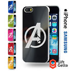 Avengers Age of Ultron Logo Engraved CD Phone Cover Case-iPhone & Samsung Models