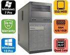 Dell Optiplex 790 MT, Core i5, SSD/HDD, 4/8/16GB, Windows 7/10 pro, Warranty