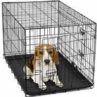 "54""/48""/42""/36""/30""/24""/20"" Pet Kennel Cat Dog Folding Crate Wire Metal Cage"