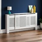 Milton Radiator Cover White Unfinished Modern MDF Wood Cabinet Grill Furniture <br/> ORDER BY 2PM FOR NEXT DAY DELIVERY-CHEAPEST ON EBAY