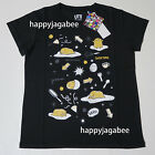 [XS- 3XL] UNIQLO Women Sanrio Graphic T- shirts Gudetama Short Sleeve Black New