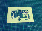 VW Camper Van reusable STENCIL for interior / retro car stencil /Not a Decal
