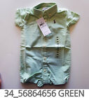 Внешний вид - Polo Ralph Lauren Baby Toddler Clothing Creeper 3/6/9/12 Months New w Tag #34