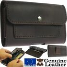 HANDCRAFTED LEATHER WAIST POUCH WITH CARD & INSIDE MONEY POCKET CASE FOR PHONE