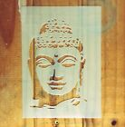 Buddha stencil STENCIL for home wall decor / Religious meditation art craft