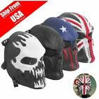 basketball face masks - Tactical Full Face Airsoft Masks Skull Mask Paintball Overhead Outdoor Hunting V