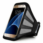 "5.5"" Sumaclife Running Gym Sport Mesh Armband Case Cover For Samsung Galaxy S7"