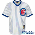 Majestic MLB Chicago Cubs Cool Base Cooperstown Jersey – White / Royal on Ebay