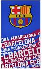 Barcelona FC Comfortable Velour Beach 100% Cotton Quick Dry  Gym and Face Towel
