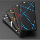 Protective Silicone Back Case Full Soft Stripe Airbag Cover For iphone 6 6s 7s