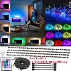 Multi Color USB 4X40CM BackLight SMD 5050 LED Flexible Light Strip Decor LOT E1