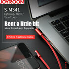 Joyroom Bent Lightning Micro Type C USB Cable USB Double Side Charging Cables