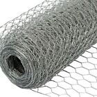 Chicken Wire Galvanised Steel Wire Netting Perfect for Chicken Coops & Pet Runs