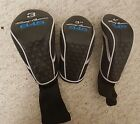 NEW TOMMY ARMOUR 845 Headcovers 3 3h 4h Never Used Black Blue