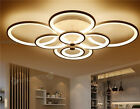 Modern Bedroom Remote  Dimmable Living Room Acrylic 4-8 Led Ceiling Lights