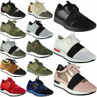 Ladies Running Trainers Womens Fitness Gym Light Sports Comfy Lace Up Shoes Size