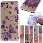 Patterned Ultra Slim Rubber Soft TPU Silicone Back Case Cover Various Phone