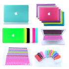 "Rubberized Hard Case+ EU/US Keyboard Cover for Macbook Pro 13/15"" Air 11/13""inch"