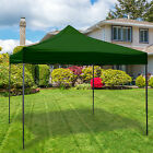 POP UP GARDEN GAZEBO WATERPROOF MARQUEE PARTY TENT WEDDING OUTDOOR CANOPY AWNING