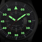 Military Men's Stainless Steel Luminous Dial Date Display Wrist Watch up-to-date image