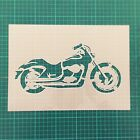 Harley Davidson motorcycle STENCIL interior decor / Kids room vintage stencil