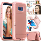 Rugged Full Body Protective Hard Case Card Slot Cover For Samsung Galaxy S8 Plus