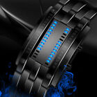 Men's Women's LED Fashion Stainless Steel Watch Bracelet Date Digital
