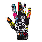 "OPTIMUM ""VELOCITY"" FULL FINGER THERMAL RUGBY GLOVES - STREET ll DESIGN - PAIR."