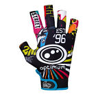 "OPTIMUM ""STIK MITS"" RUGBY GLOVES - NEW ""STREET ll"" DESIGN PAIR. FREE UK POST."