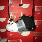 Nike AIR MORE UPTEMPO '96 NEW AUTHENTIC Black/Grey/White 921948-002 Sz: 8-14
