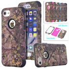 Forest Realtree Camo Heavy Duty Hybrid Shockproof Case Cover For iPhone 5 6 7