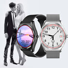 Round Touch Screen Bluetooth Smart Watch Heart Rate Monitor For iPhone Android