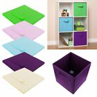 Foldable Square Storage Collapsible Folding Box Clothe Organizer Fabric Cube New
