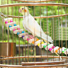 Pet Birds Toys Colorful Drawbridge Bridge Wooden Singing Cockatiel Parrot Toys