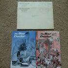 LOT 2 ORIGINAL WW2 MEDIC PAMPHLETS  W/ SLEEVES THE WAR DOCTOR  фото