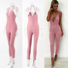New 1Pcs Women's Slim Bandage Sling Jumpsuit Sexy Rompers Trousers
