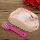 Mouse Hamster Gerbille Pet Bathroom Cage Box Bath Sand Shovel Hamster Toilet