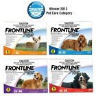 FRONTLINE PLUS 6's  Control Fleas,Ticks & Lice Spot On Treatment for DogsSYD St