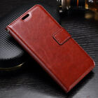VINTAGE THIN PU LEATHER FLIP WALLET COVER STAND BACK CASE FOR PANASONIC P55 MAX