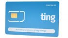 Ting GSM SIM card – Average monthly bill is $23. No contract, Universal SIM, Nat